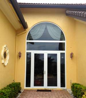 Impact Resistant Glass Door